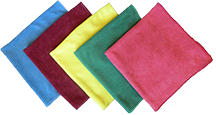 Wholesale Microfiber Glass Towel - Textured
